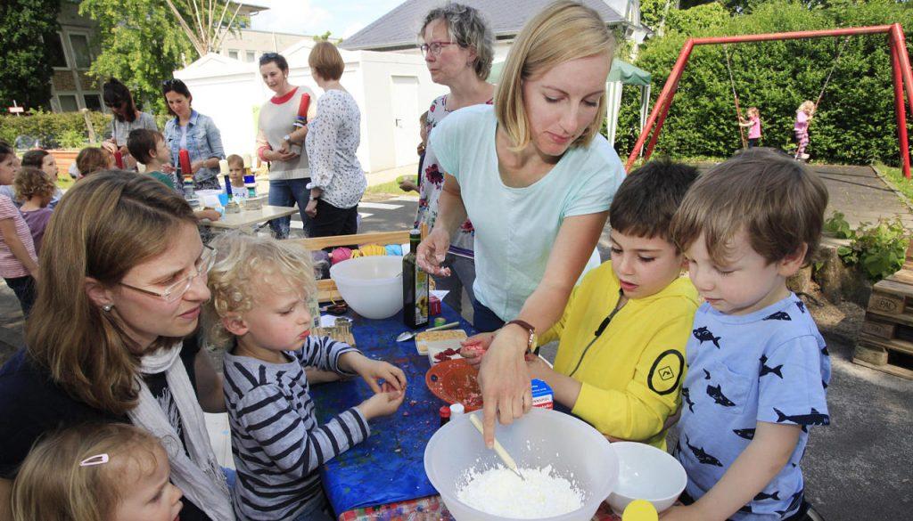 Umweltworkshop mit Kindern
